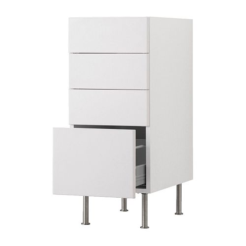 Akurum Base Cabinet With 4 Drawers Ikea Reviews