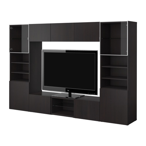 besta tv storage combination ikea reviews. Black Bedroom Furniture Sets. Home Design Ideas