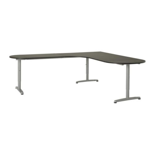 Farmhouse Sink Ikea Cabinet ~ GALANT Desk combination left half round