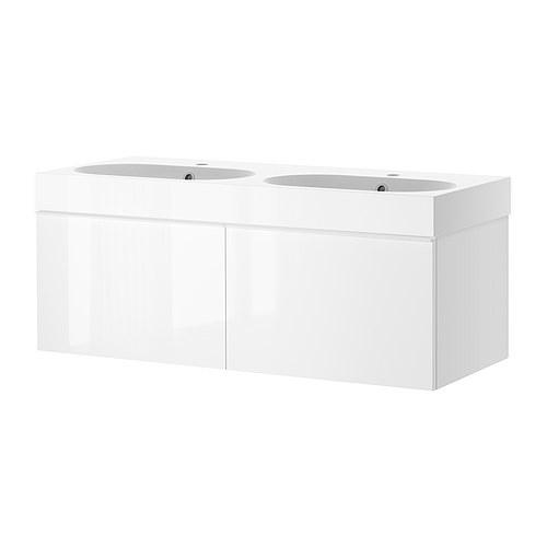 Godmorgon braviken sink cabinet with 2 drawers ikea reviews for Ikea trollsta cabinet