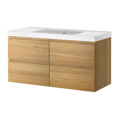 godmorgon odensvik sink cabinet with 4 drawers ikea reviews. Black Bedroom Furniture Sets. Home Design Ideas