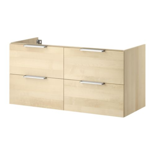 Godmorgon sink cabinet with 4 drawers ikea reviews for Ikea trollsta cabinet