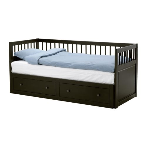Hemnes daybed frame with 2 drawers ikea reviews - Ikea divan hemnes ...