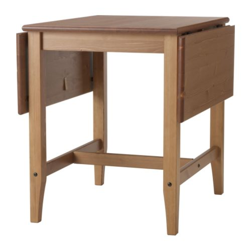 Up To 4 Seats IKEA Reviews : leksvik drop leaf table antique stain73804PE190582S4 from ikeareviews.net size 500 x 500 jpeg 17kB