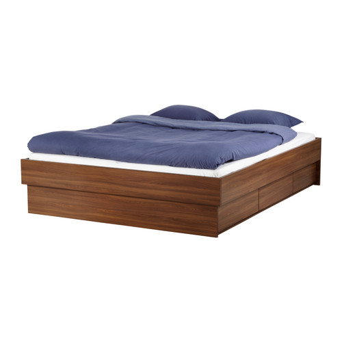 Oppdal Bed Frame With Drawers Ikea Reviews