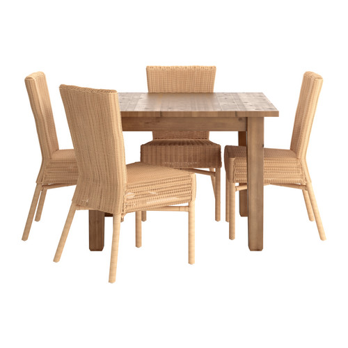 stornas harola table and 4 chairs ikea reviews. Black Bedroom Furniture Sets. Home Design Ideas