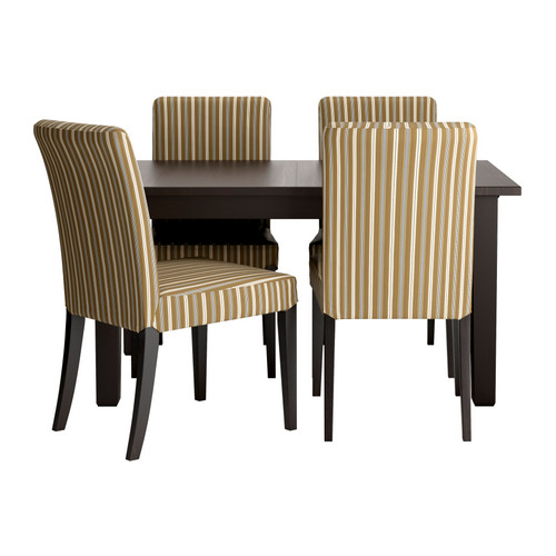STORNASHENRIKSDAL Table and 4 chairs IKEA Reviews : stornas henriksdal table and chairs black0118930PE274995S4 from ikeareviews.net size 500 x 500 jpeg 43kB