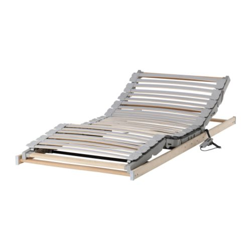 Sultan langhus slatted bed base ikea reviews for Adjustable bed motor replacement