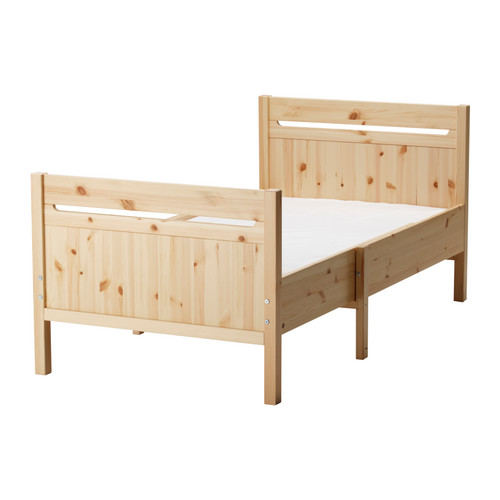 Ikea Kinderbett Was Mitwächst ~ TROFAST Ext bed frame with slatted bed base  IKEA Reviews